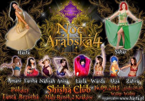 14.09.2013 Noc Arabska Studia Hayfa