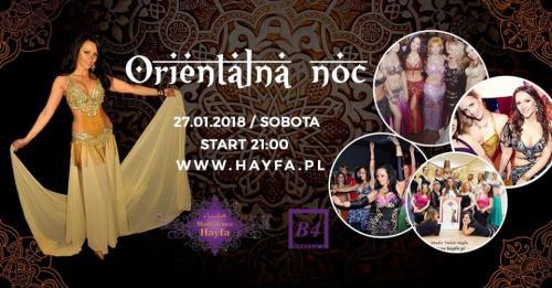 27.01.2018 Orientalna Noc Karnawał