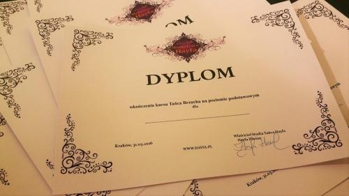 16.02.2016 Rozdanie dyplomów
